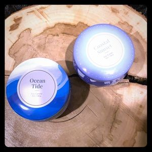 Set of 2 Seaside Scent Soy Candles